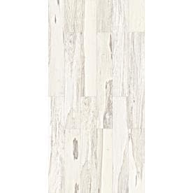 Style Selections Brazilian Pecan White Wood Look Porcelain Floor And Wall  Tile (Common: 6