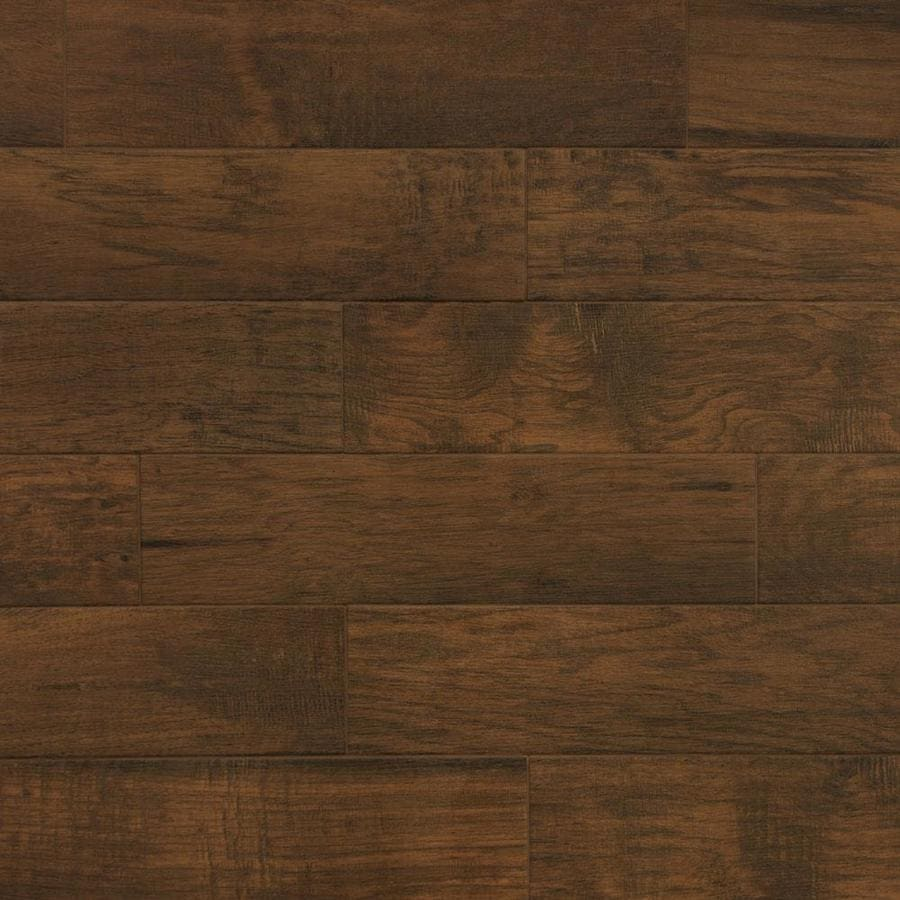 True Porcelain Co Chestnut 6 In X 24 In Porcelain Wood