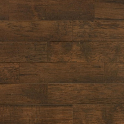 Farmhouse Chestnut 6 In X 24 Porcelain Wood Look Floor And Wall Tile Common Actual 5 75 23