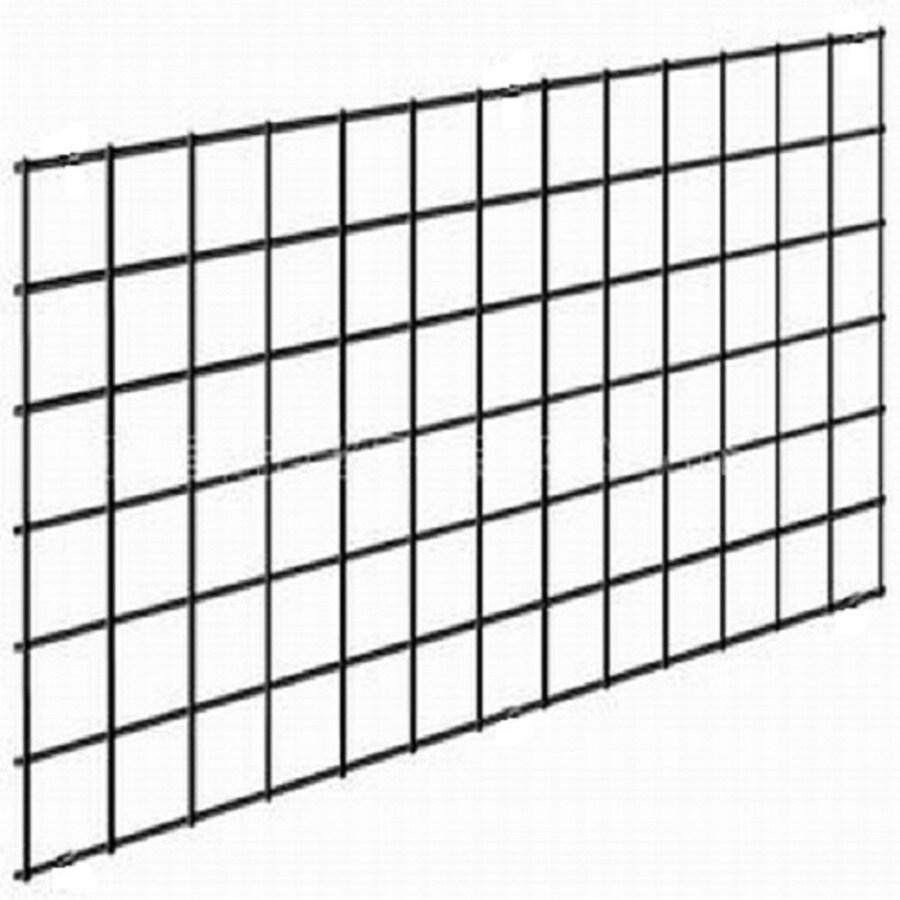 (Actual: 0.39-in x 96-in x 36-in) Black Metal Welded Panel