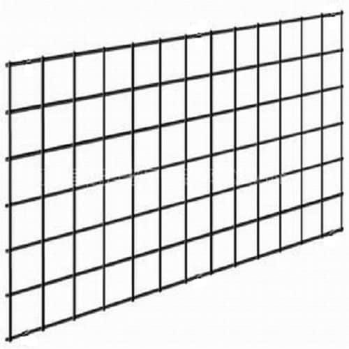 2 5 In X 36 96 Black Metal Railing Panel The Deck