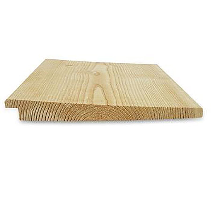 Brown Cedar Untreated Wood Siding Panel (Common: 1-in x 8-in x 144-in; Actual: 0.687-in x 7.375-in x 144-in)
