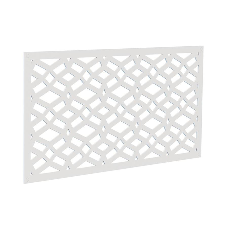 Freedom (Common: 24-in x 4-ft; Actual: 0.3-in x 23.875-in x 3.989-ft) White Vinyl Lattice