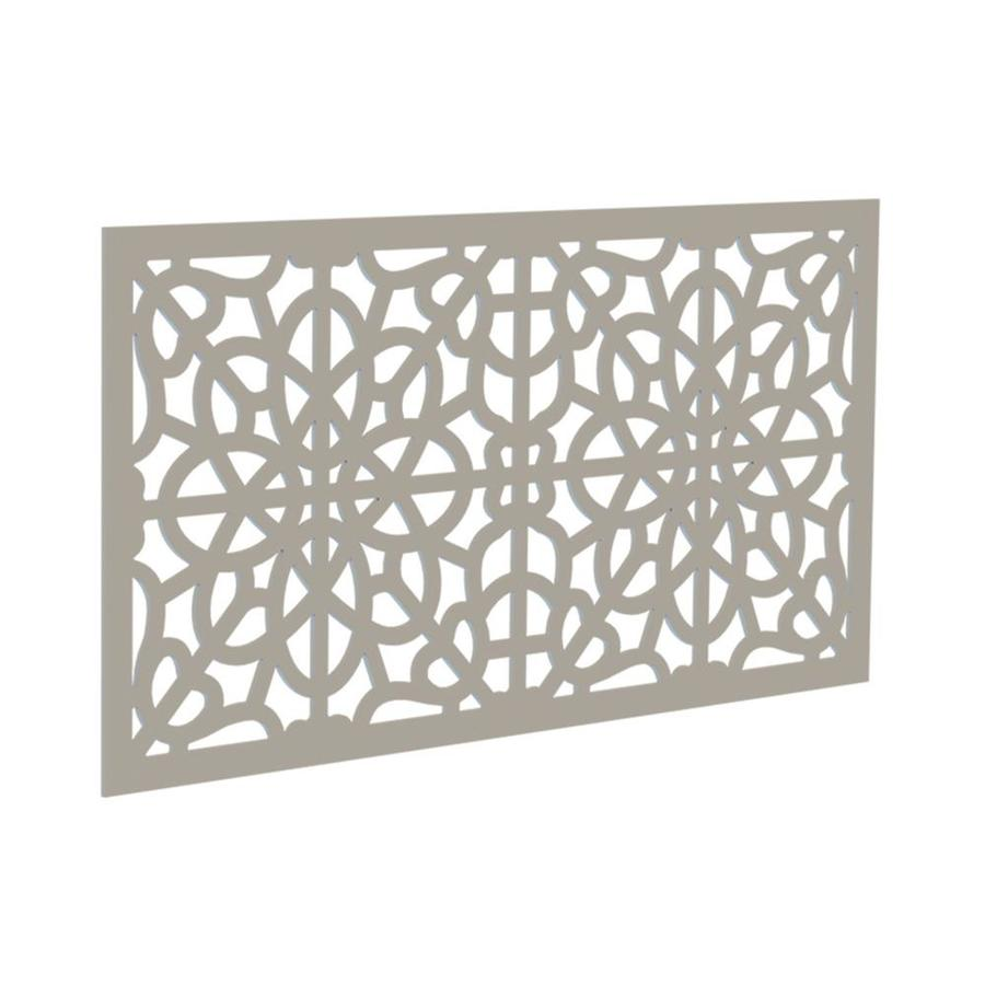 Freedom (Common: 24-in x 4-ft; Actual: 0.3-in x 23.875-in x 3.989-ft) Clay Vinyl Lattice