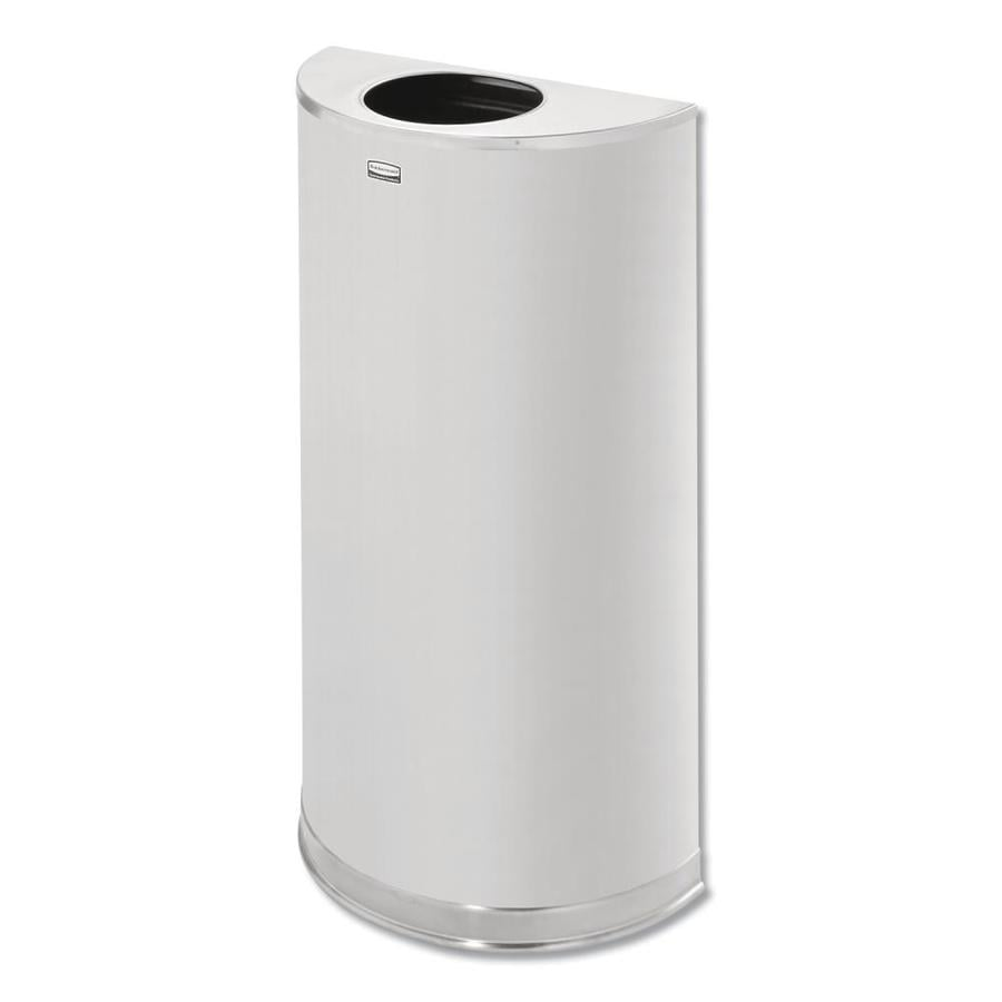 Rubbermaid Commercial Products 12 Gallon Satin Stainless Steel Touchless Trash Can