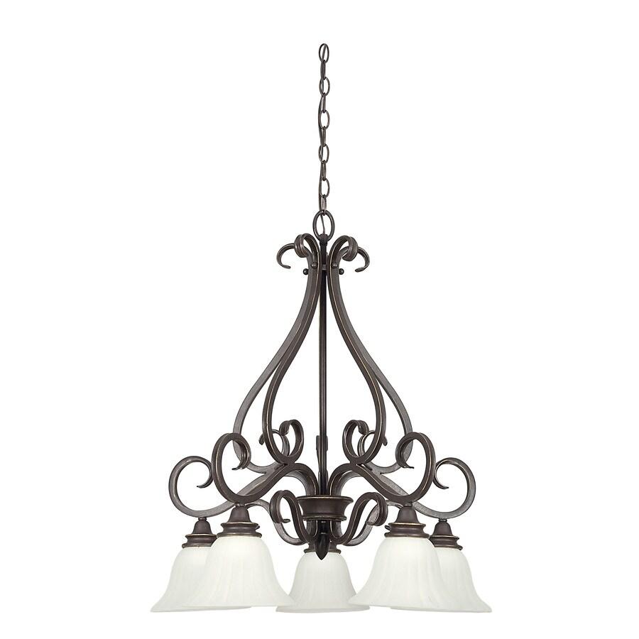 Shop ashton 5 light black onyx chandelier at lowes ashton 5 light black onyx chandelier aloadofball Gallery
