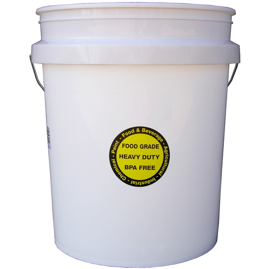 Encore Plastics 5 Gallon Commercial Food Grade Bucket At