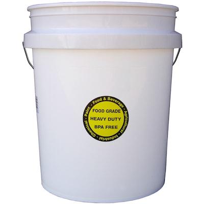 Encore Plastics 5-Gallon Commercial Food Grade Bucket at
