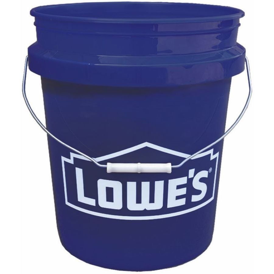 Uncategorized Large Buckets shop buckets at lowes com encore plastics 5 gallon commercial bucket