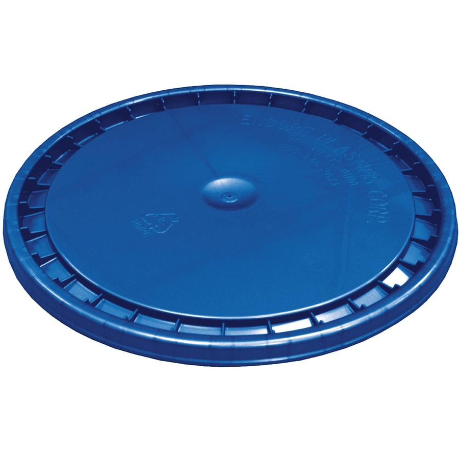 Encore Plastics 12-in Blue Plastic Bucket Lid