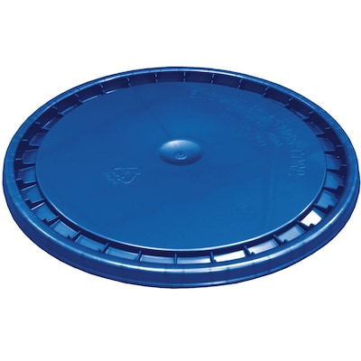 Encore Plastics 12-in Blue Plastic Bucket Lid at Lowes com