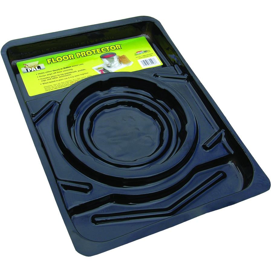 Encore Plastics Floor Protector 18.8-in Plastic Paint Can Drip Catcher