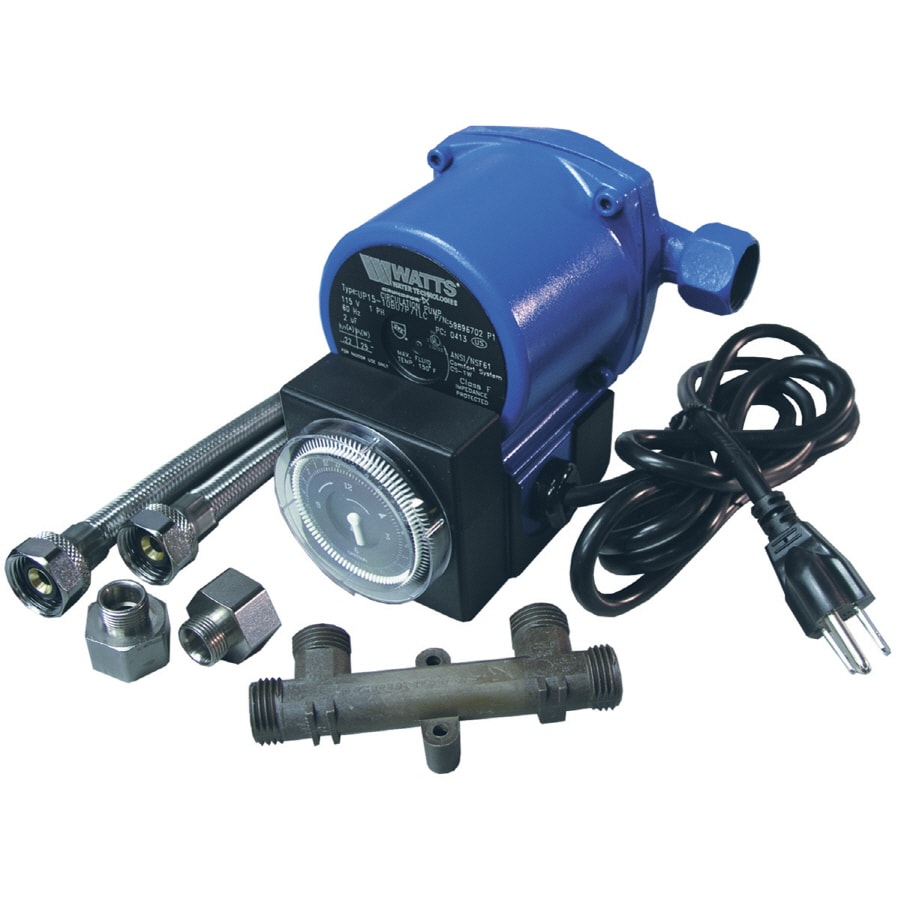 Watts Water Heater Recirculating Pump