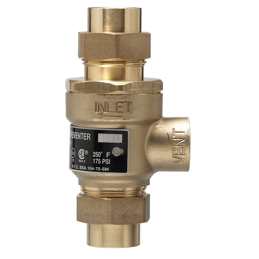 Shop watts backflow preventer at lowes