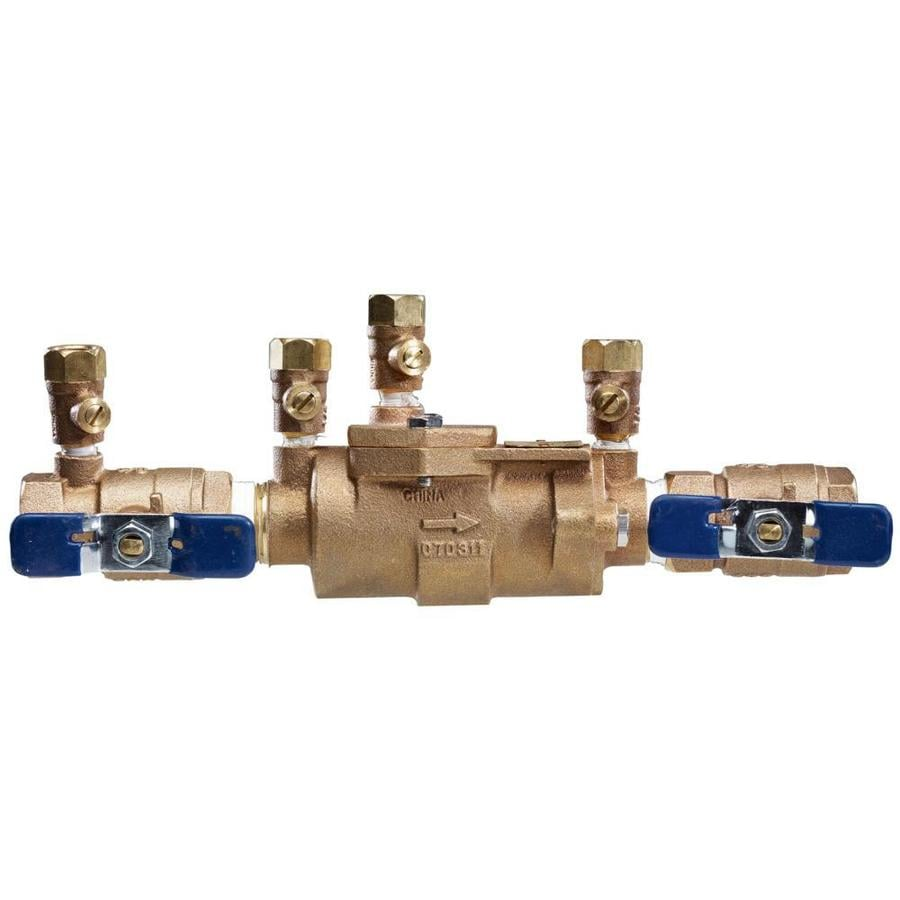 FEBCO 3/4-in Bronze Female In-Line Dual Check Valve