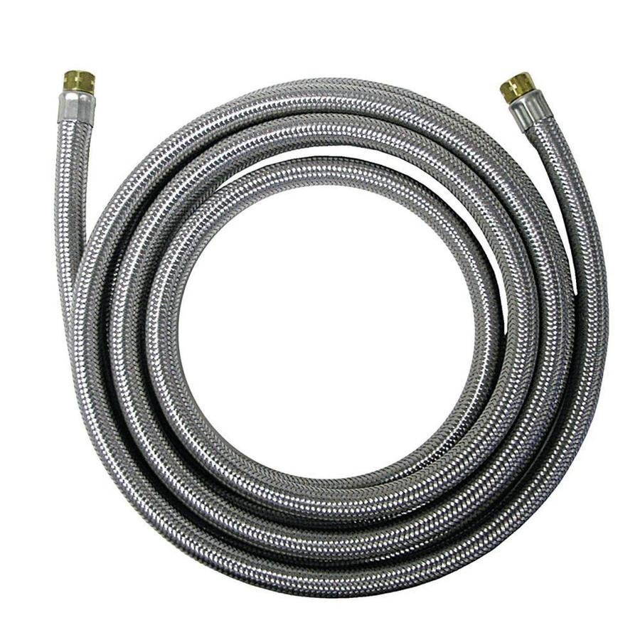 Watts 20-ft 125-PSI Braided Stainless Steel Ice Maker Connector
