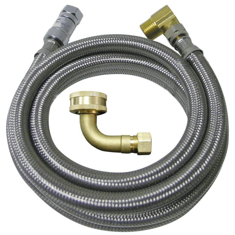Watts 5-ft 125-PSI Braided Stainless Steel Dishwasher Connector
