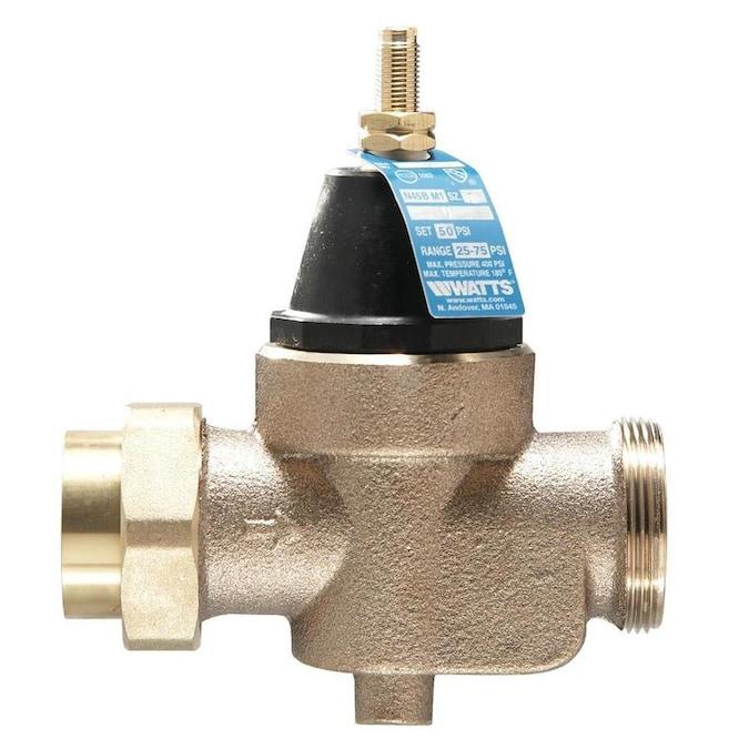 Watts Lfn45 Copper 3 4 In Fnpt Pressure Reducing Valve In The Pressure Relief Valves Regulators Department At Lowes Com
