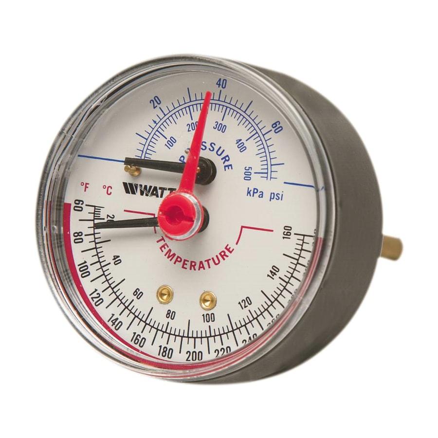 Watts Temperature And Pressure-Gauge