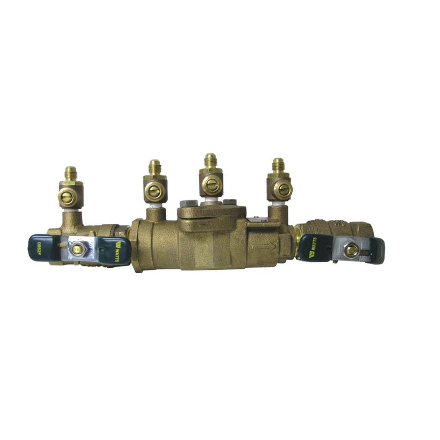 Watts 1-in Bronze Male In-Line Dual Check Valve