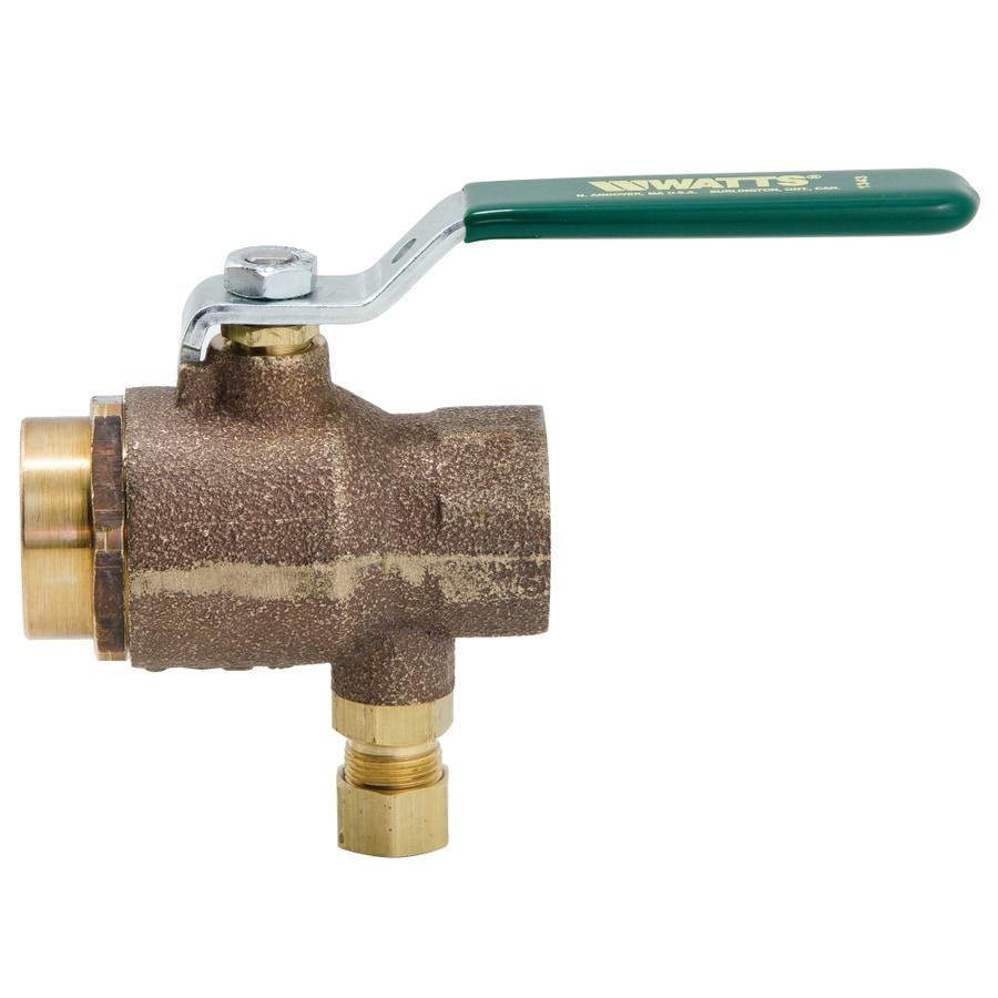 Watts 3/4-in Bronze Pressure Vacuum Breaker Valve