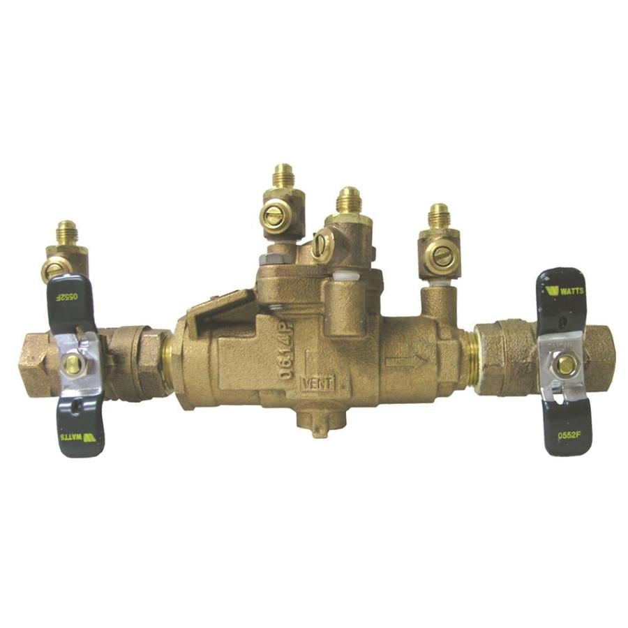 shop watts bronze female backflow preventer at. Black Bedroom Furniture Sets. Home Design Ideas