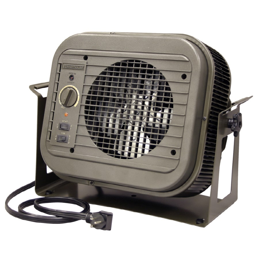 Shop fahrenheat 4000 watt utility fan cabinet electric space heater with thermostat at - Heating small spaces concept ...