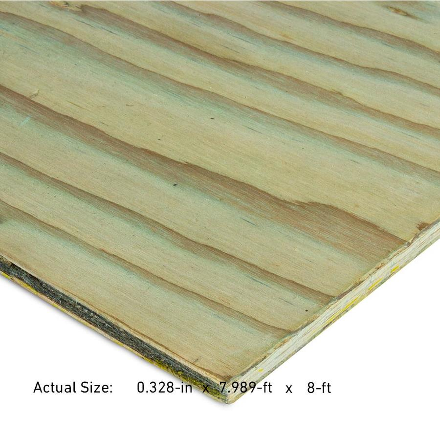 11/32 CAT PS1-09 Pressure Treated Douglas Fir Sanded Plywood, Application as 4 x 8