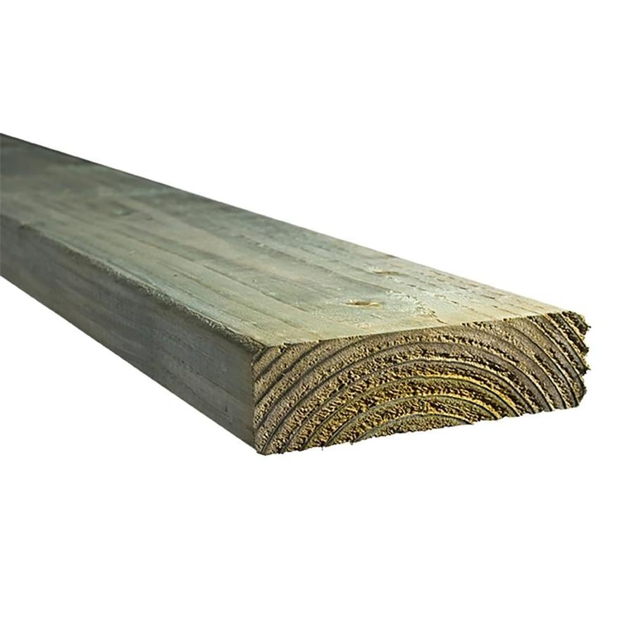 Top Choice (Common: 2-in x 6-in x 8-ft; Actual: 1.5625-in x 5.625-in x 8-ft) Pressure Treated Lumber