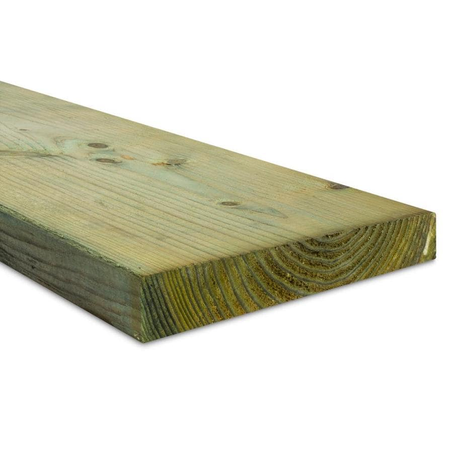 Top Choice (Common: 2-in x 12-in x 16-ft; Actual: 1.5625-in x 11.5-in x 16-ft) Pressure Treated Lumber