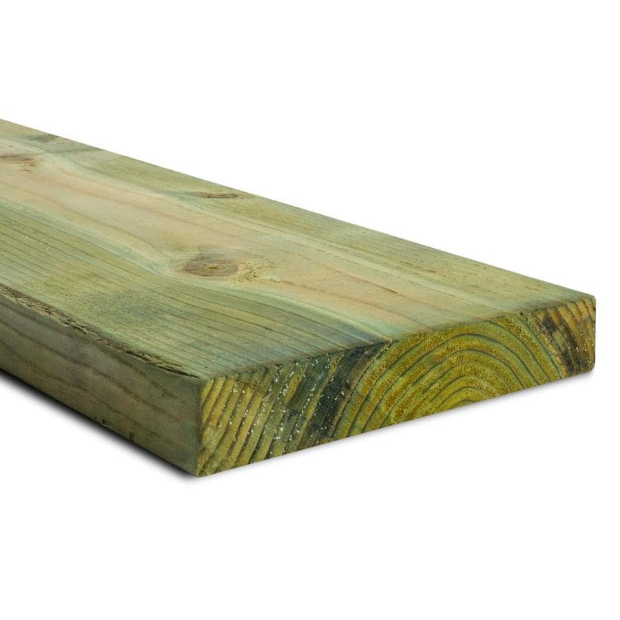 Top Choice (Common: 2-in x 10-in x 12-ft; Actual: 1.5625-in x 9.5-in x 12-ft) Pressure Treated Lumber