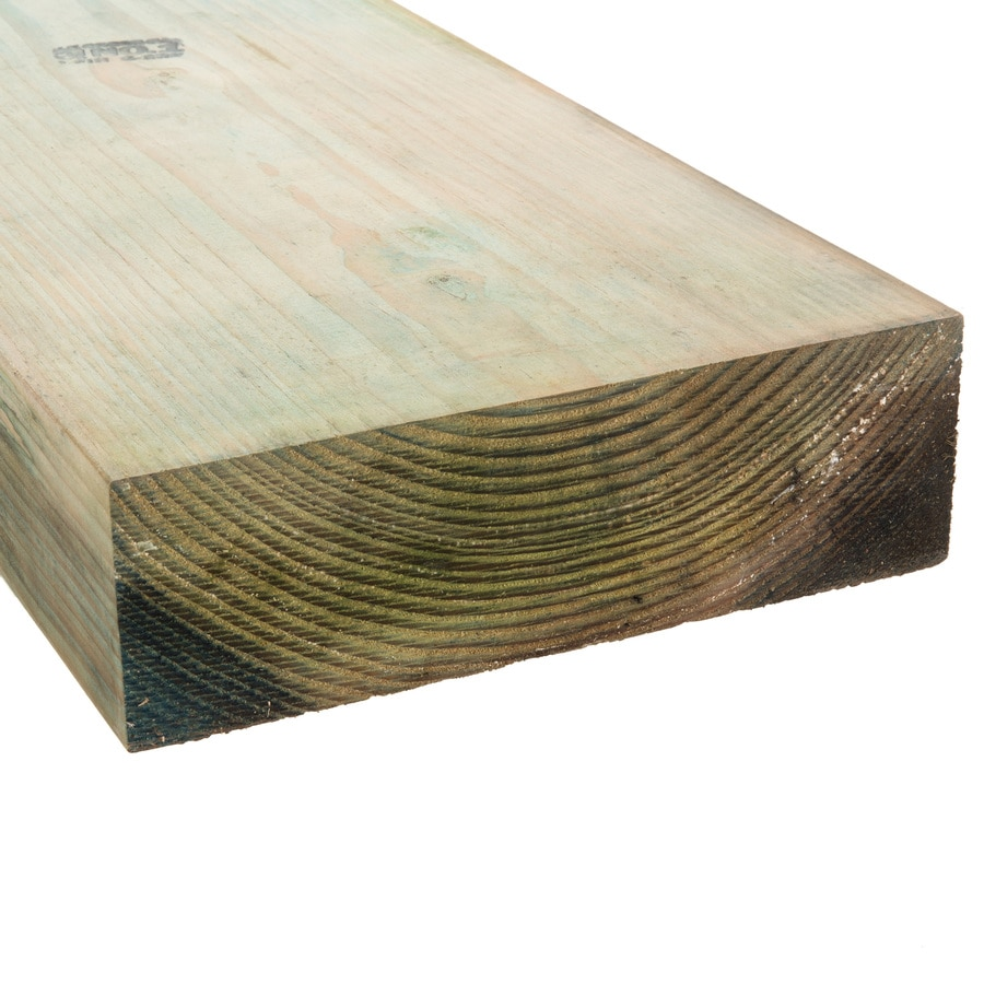 (Common: 4-in x 6-in x 8-ft; Actual: 3.5625-in x 5.625-in x 8-ft) Pressure Treated Lumber