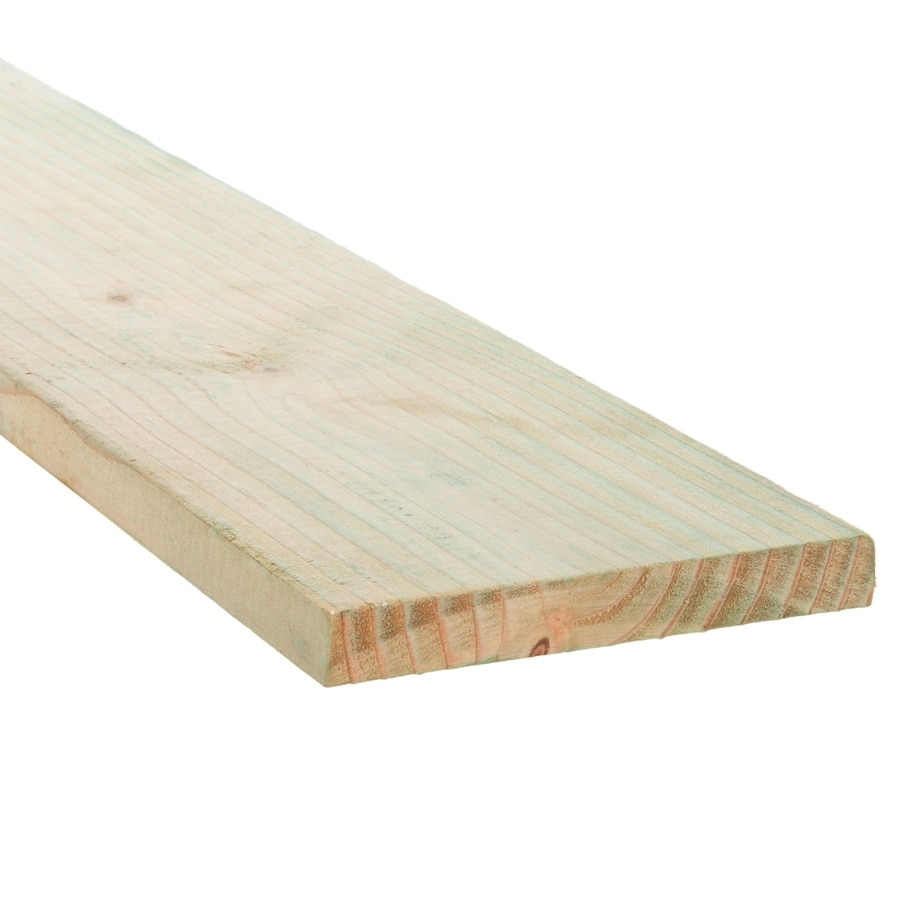 (Common: 1-in x 6-in x 8-ft; Actual: 0.781-in x 5.625-in x 8-ft) Pressure Treated Douglas Fir Board