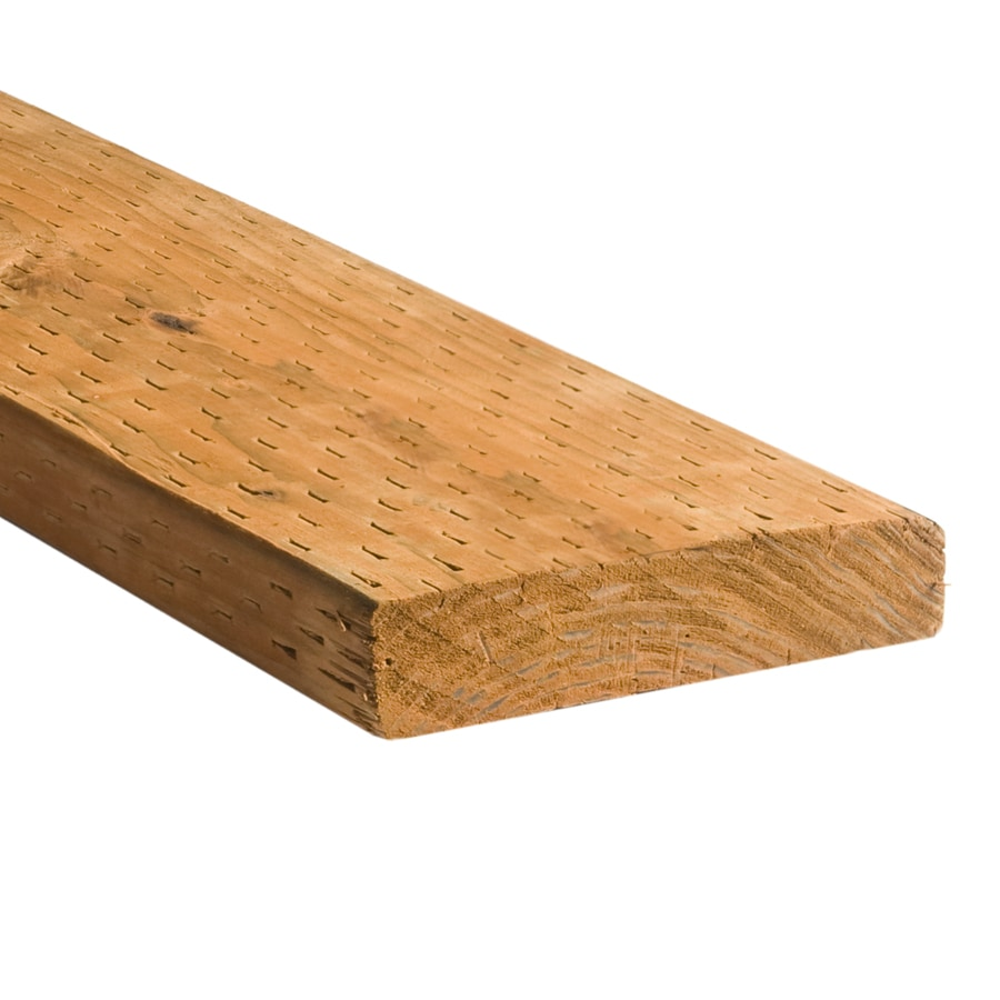 Top Choice (Common: 2-in x 8-in x 14-ft; Actual: 1.5-in x 7.25-in x 14-ft) Pressure Treated Lumber