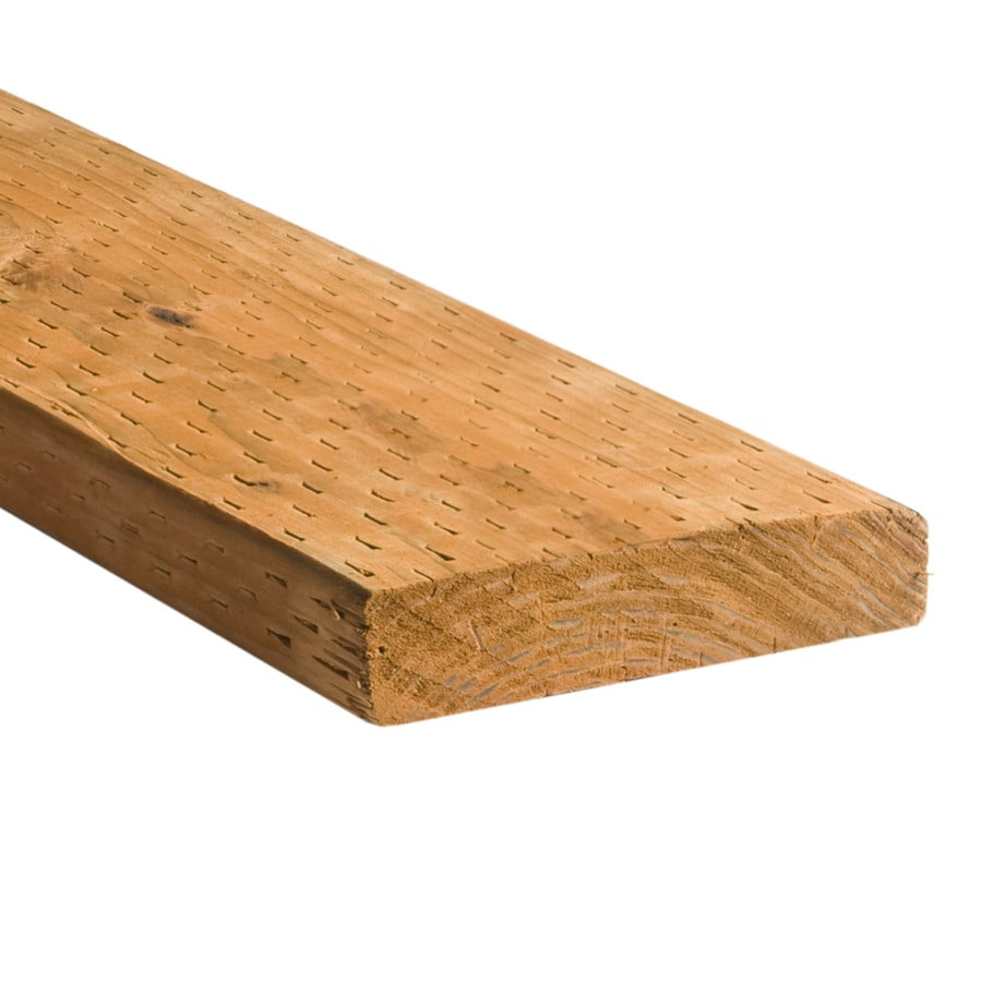 Top Choice (Common: 2-in x 8-in x 16-ft; Actual: 1.5-in x 7.25-in x 16-ft) Pressure Treated Lumber