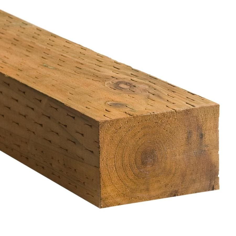 Severe Weather (Common: 4-in x 6-in x 10-ft; Actual: 3.5625-in x 5.625-in x 10-ft) Pressure Treated Lumber
