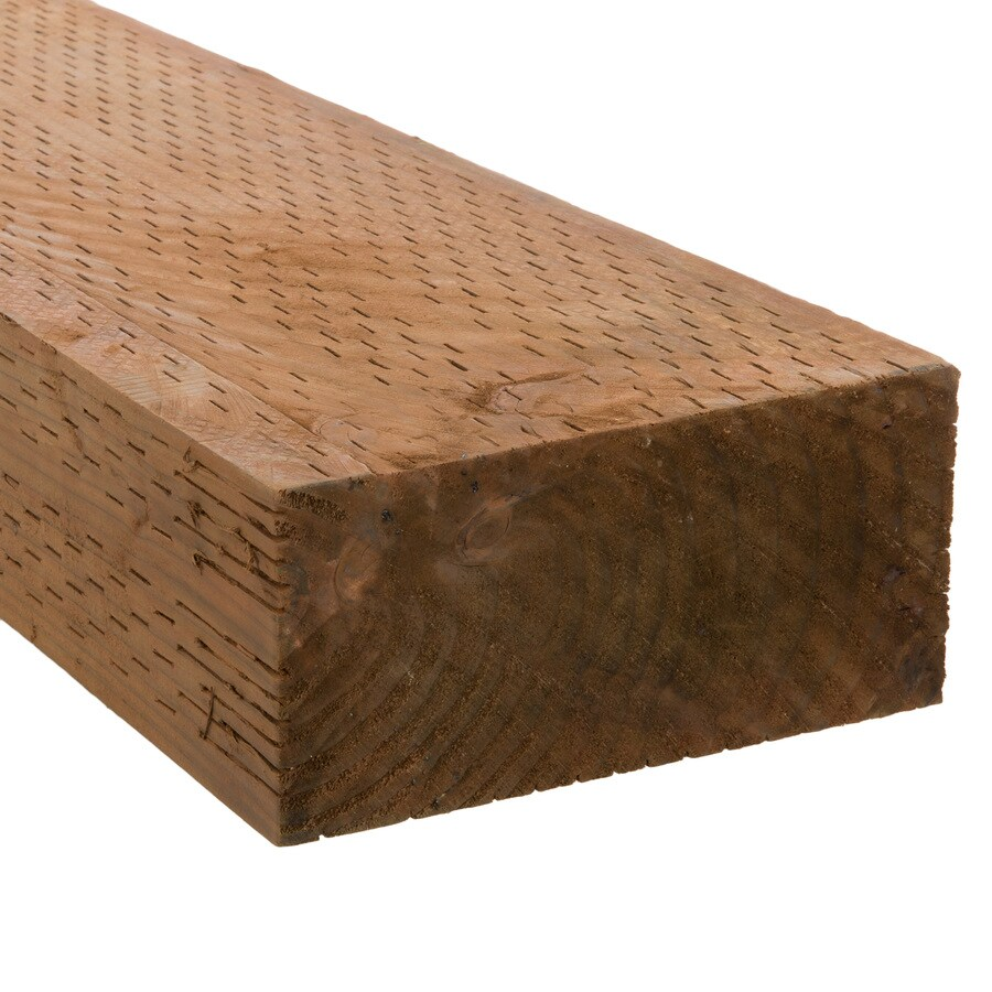 Severe Weather (Common: 4-in x 8-in x 8-ft; Actual: 3.5625-in x 7.5-in x 8-ft) Pressure Treated Lumber