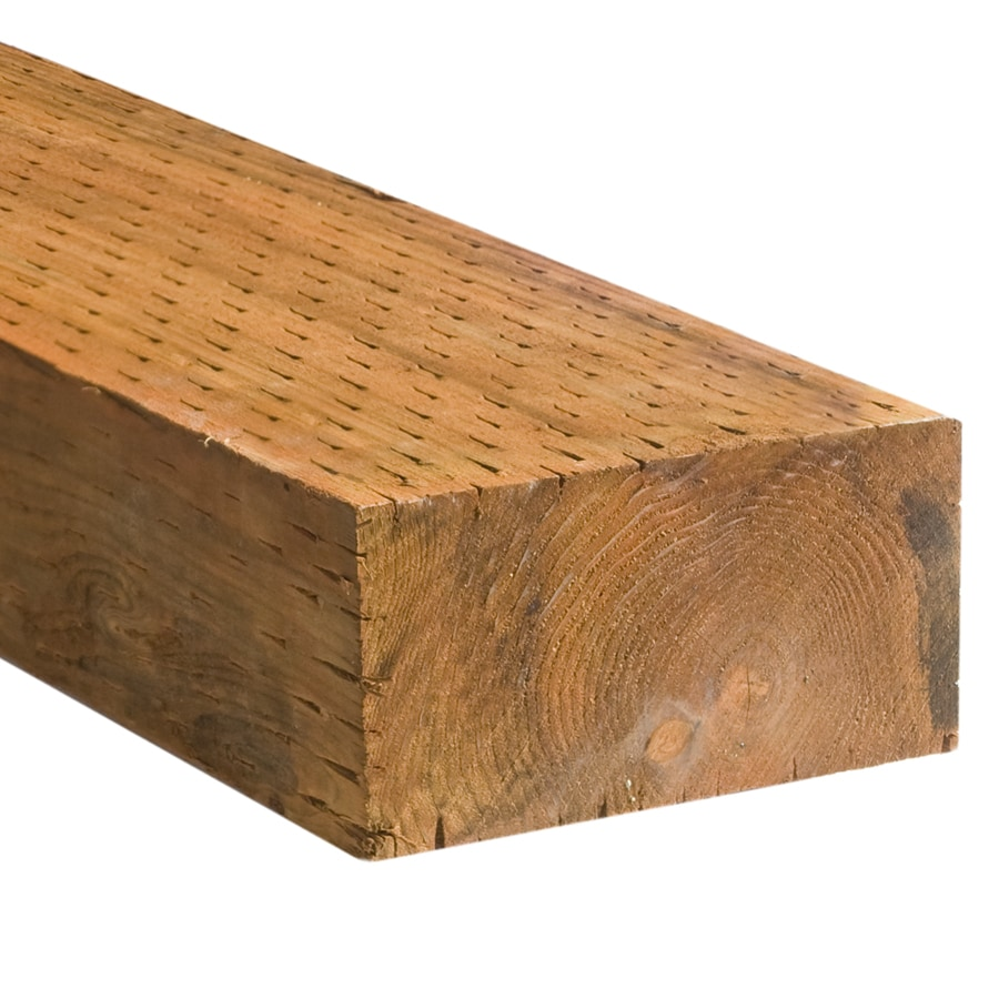 Severe Weather (Common: 4-in x 8-in x 10-ft; Actual: 3.5625-in x 7.5-in x 10-ft) Pressure Treated Lumber