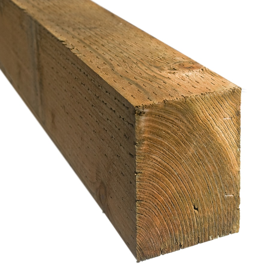 Severe Weather (Common: 6-in x 6-in x 8-ft; Actual: 5.5-in x 5.5-in x 8-ft) Pressure Treated Lumber