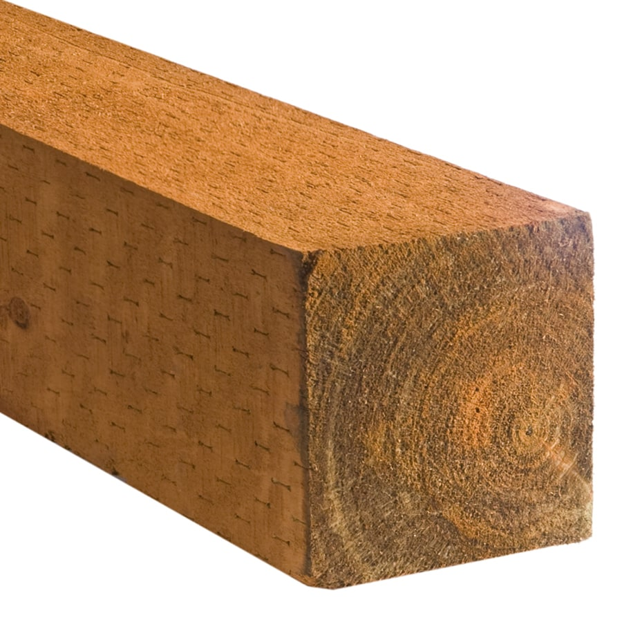Severe Weather Pressure Treated Landscape Timber (Actual: 5.75-in x 5.75-in x 8-ft)