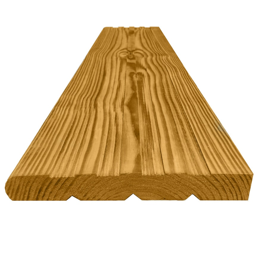 Top Choice Pressure Treated Southern Yellow Pine Deck Stair Tread (Actual: 1.5-in x 10.75-in x 48-in)