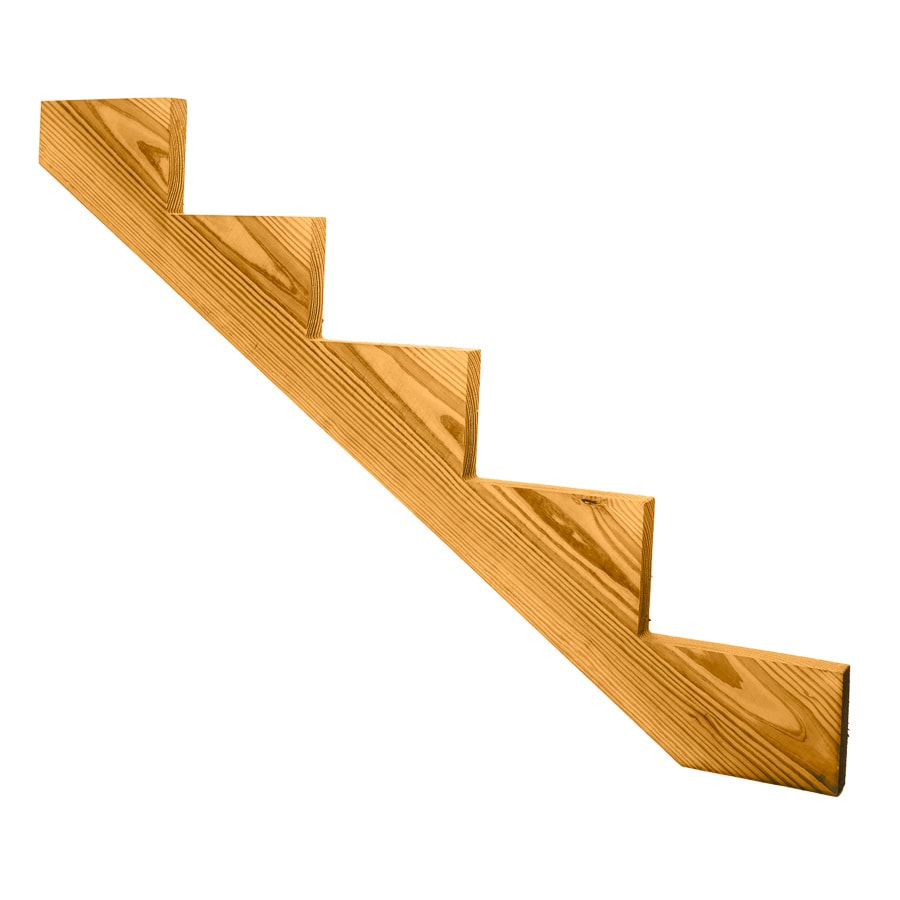 Top Choice 5-Step Pressure Treated Southern Yellow Pine Deck Stair Stringer