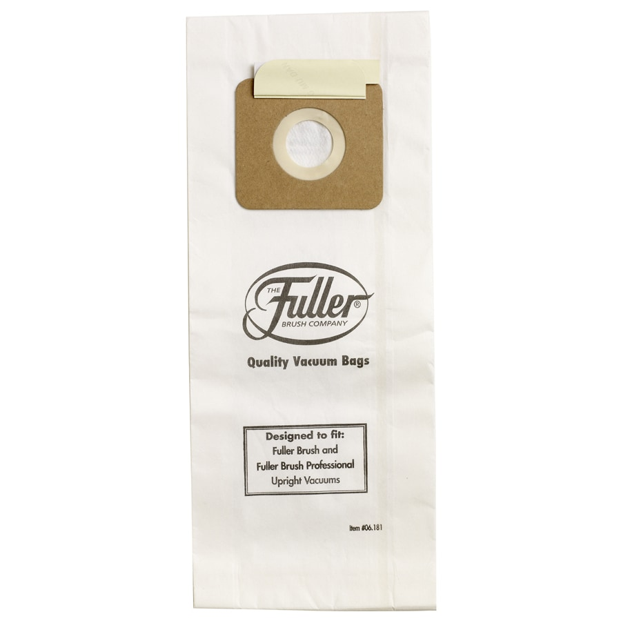 Fuller BRUSH 6-Pack 2.8 Liters Disposable Paper Vacuum Bag