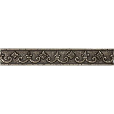 Bronze Metal Border Tile Common 1 In X 8 Actual 18 7 87