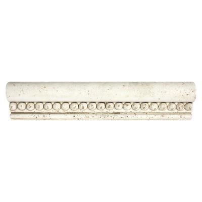 12 W X 3 L Decorative Cast Stone Borders Natural Tile