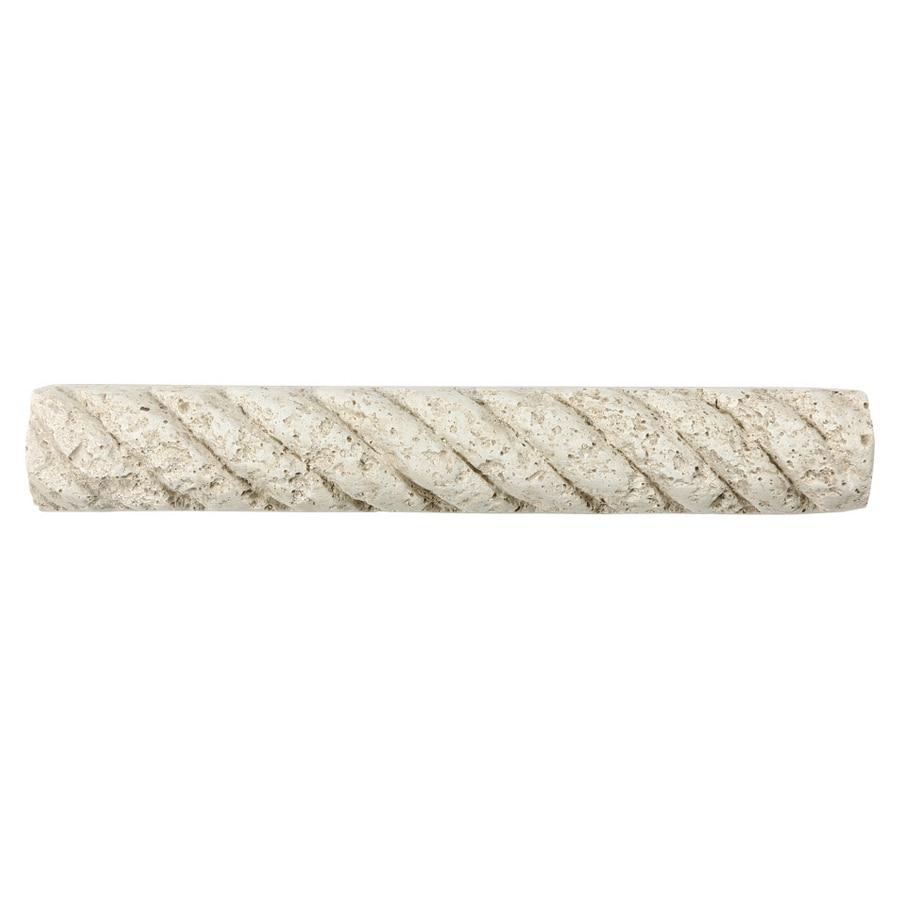 White Landscape Stones Lowes : Decorative cast stone borders white natural tile at lowes