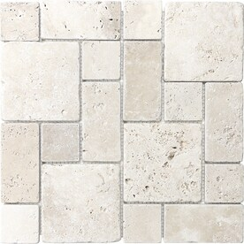 Anatolia Tile Chiaro 12 In X 12 In Mixed Pattern Mosaic