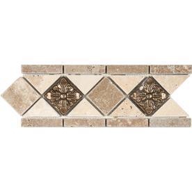 Listello Accent Trim Tile At Lowes
