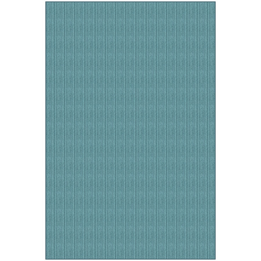 Blue Rectangular Indoor Woven Area Rug (Common: 5 x 7; Actual: 4.83-ft W x 7.33-ft L)