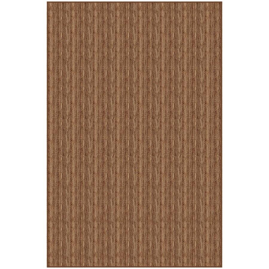 Rich Tan Rectangular Indoor Woven Area Rug (Common: 5 x 7; Actual: 4.83-ft W x 7.33-ft L)